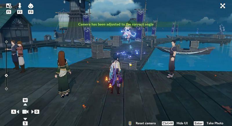 Los jugadores deberán tomar una foto de este pescador (Imagen a través de ZaFrostPet)