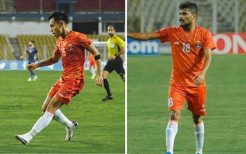 SC Eats Bengal secure two-star Indian players [Image Credits: Amarjot Singh/Twitter, Romeo Fernandes/Instagram]