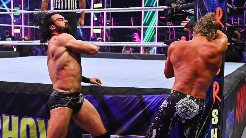 WWE Extreme Rules 2021 में ड्रू मैकइंटायर vs डॉल्फ जिगलर
