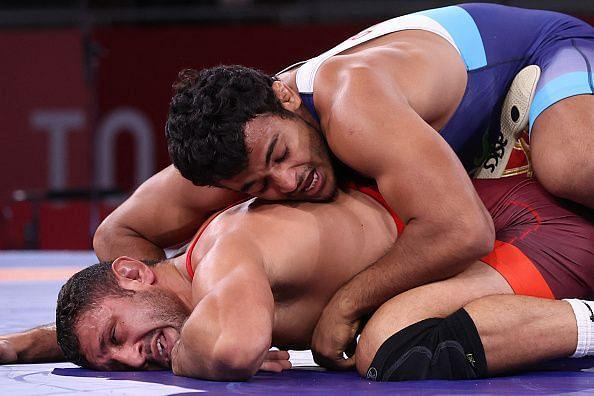 Wrestling Olympics