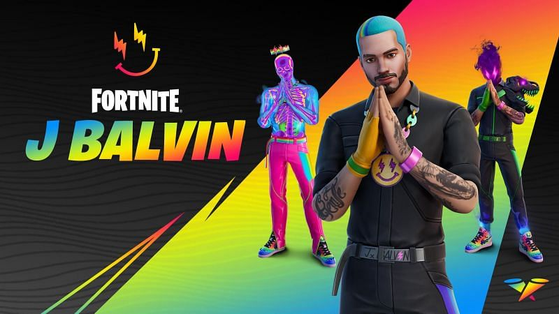 J Balvin Cup will commence on August 26, with top teams unlocking the skin for free. Image via Epic Games