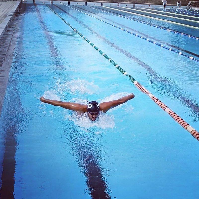 Indian Paralympian Niranjan Mukundan [Image Credits: Niranjan Mukundan]