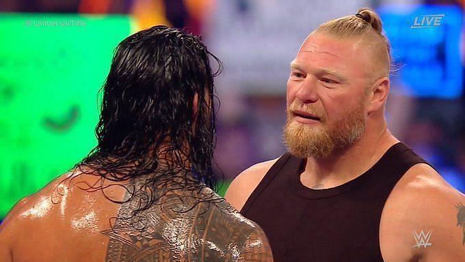 WWE रिंग में पिछले हफ्ते लैसनर ने वापसी की थी