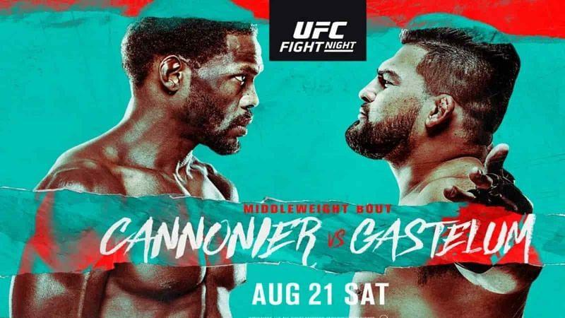 Watch UFC Fight Night: Cannonier vs. Gastelum 8/21/21 Full Show Online
