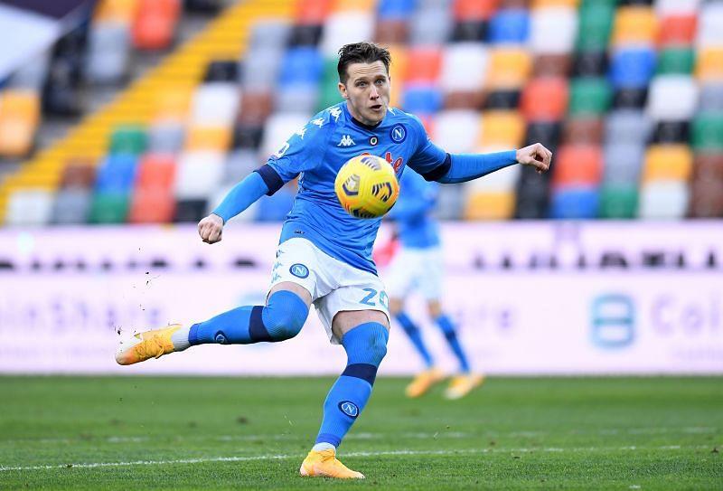 Piotr Zielinksi is an ever-present for Napoli