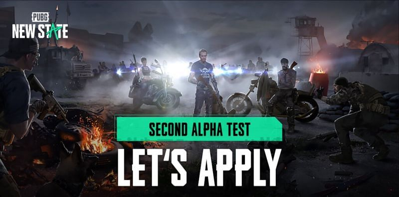 The registration for the second Alpha Test has started (Image via PUBG New State)