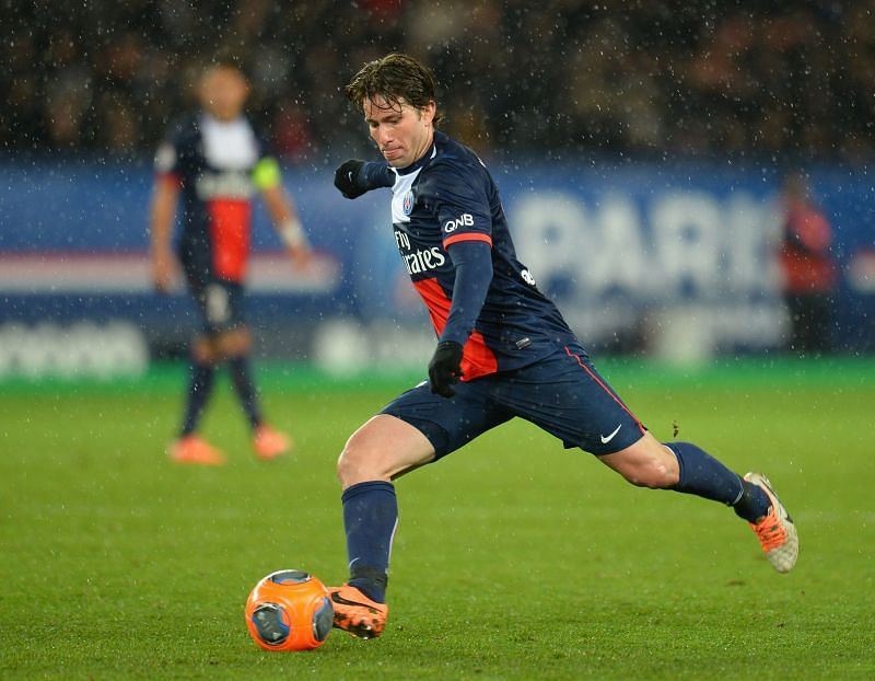 Maxwell played 214 games for PSG