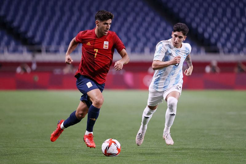 Marco Asensio scored the winning goal for Spain in the semifinal against Japan.
