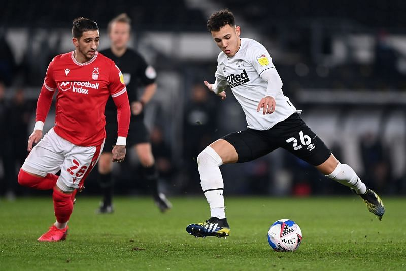 Nottingham Forest trade tackles with Derby County on Saturday