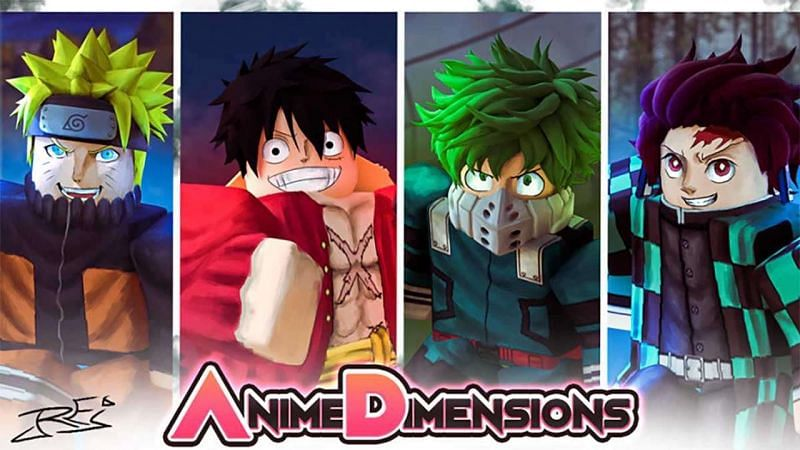 A promotional image for Anime Dimenions. (Image via Roblox Corporation)