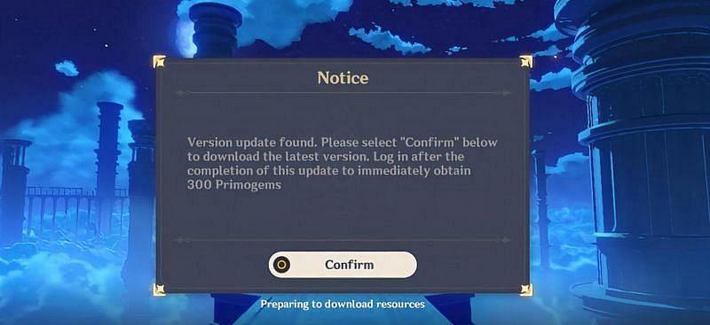 Mobile loading screen (Image via Genshin Impact)