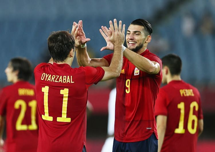 Spain are out to avenge their 2012 loss to Japan