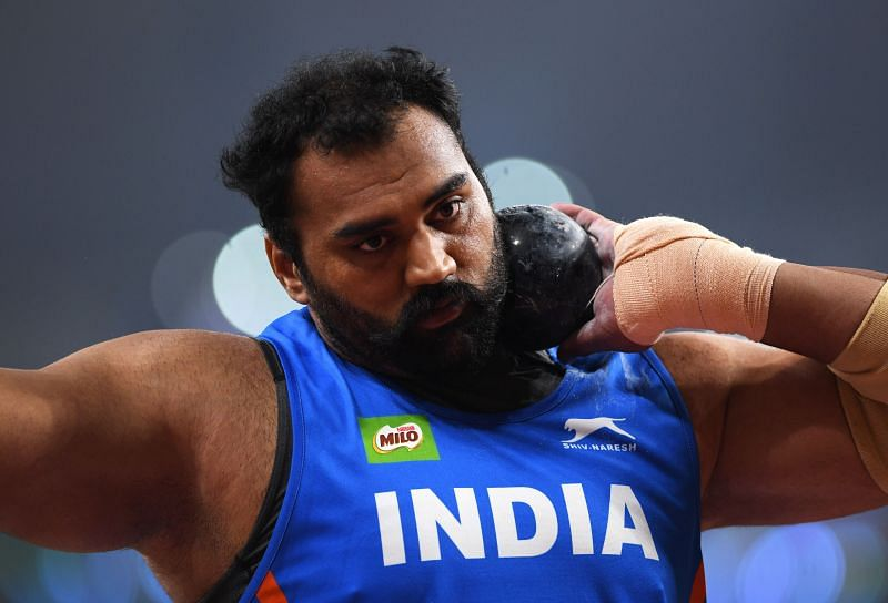 India's Tajinderpal Singh Toor fails to qualify for the shot put final.