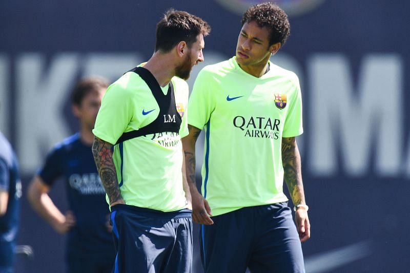 Messi and Neymar are set for a massive reunion in Paris.