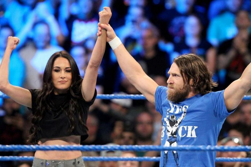 Brie Bella is very proud of her husband.