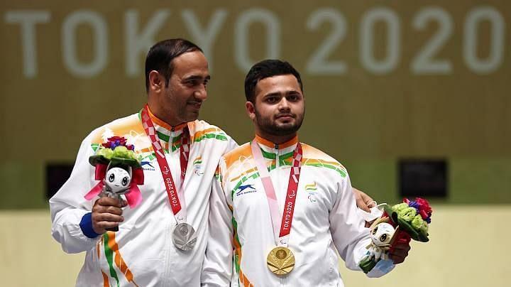 Tokyo Paralympics शूटिंग मिक्स्ड 50मी पिस्टल में मनीष नरवाल ने स्वर्ण और सिंहराज ने रजत जीता