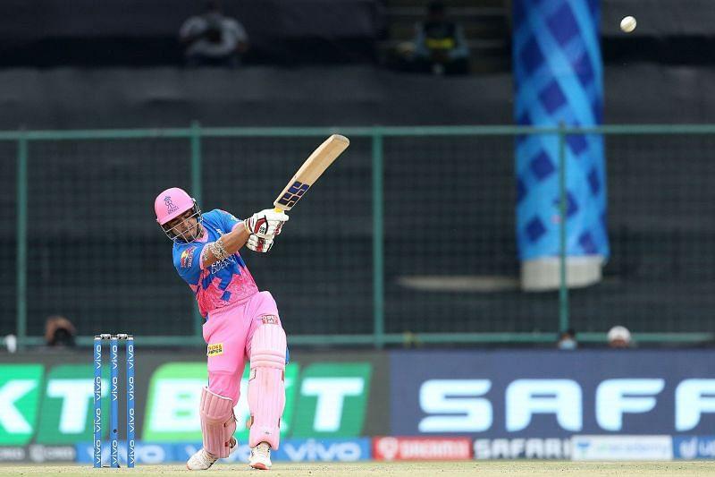 Riyan Parag has scored 78 runs in the 2021 edition of the Indian Premier League so far (Image courtesy: IPLT20.com)