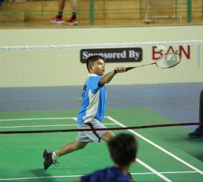 Mohd Ali Mir in action