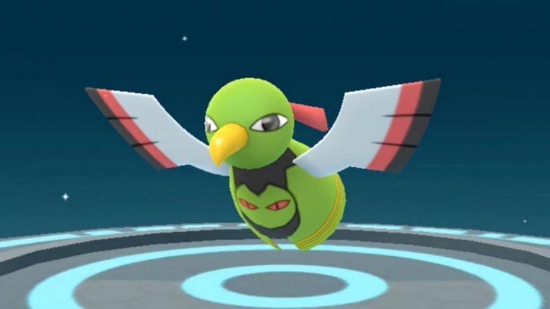 Xatu as it appears in Pokemon GO (Image via Niantic)