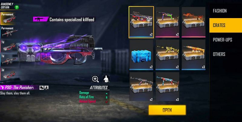 Things that can be obtained through this crate