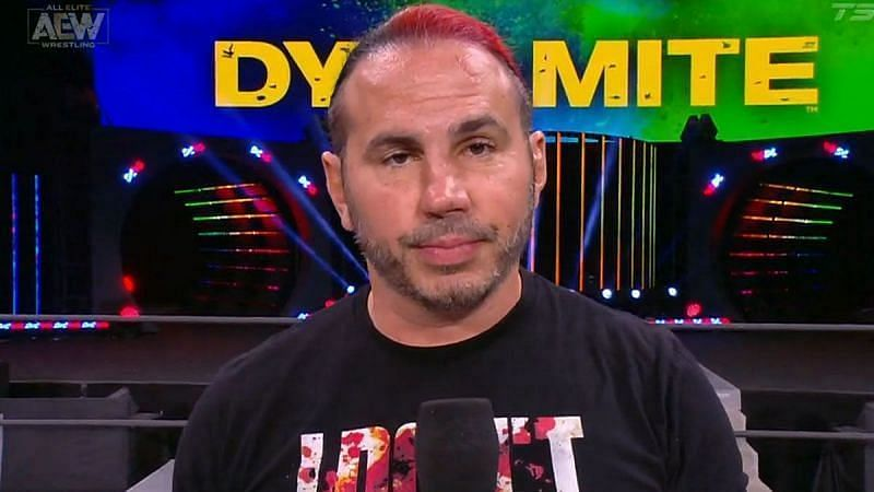 AEW star Matt Hardy is not happy with comparisons with MVP