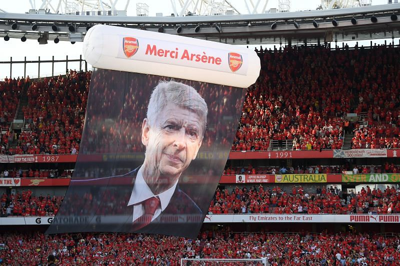 Arsenal v Burnley - Arsene Wenger's farewell