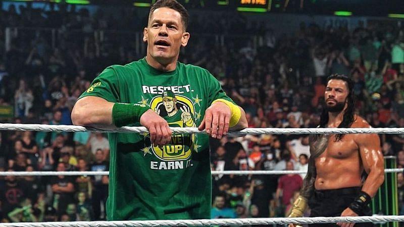 WWE दिग्गज जॉन सीना के मैच में हुआ बदलाव