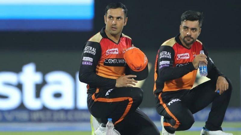 राशिद खान और मोहम्मद नबी सनराइज़र्स हैदराबाद की टीम का अहम हिस्सा हैं