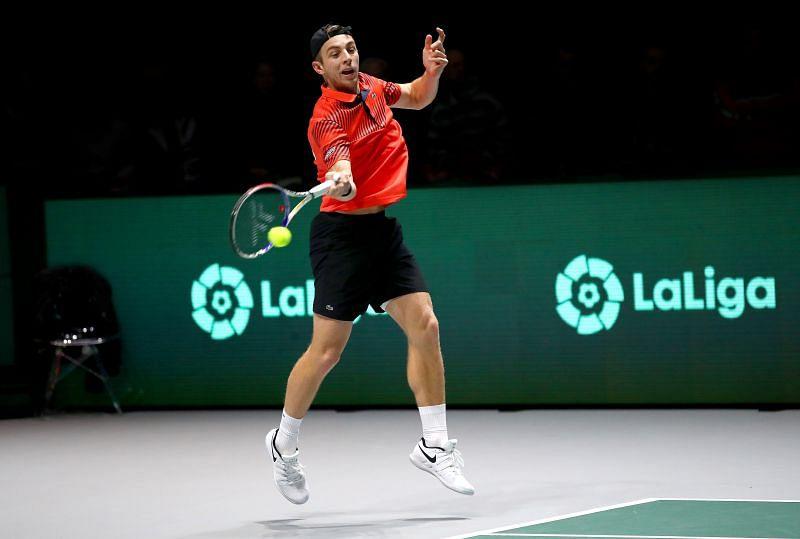 Tallon Griekspoor is looking forward to his clash against Novak Djokovic