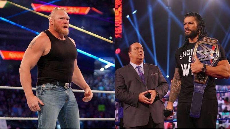 WWE Super SmackDown शो में यूनिवर्सल चैंपियन रोमन रेंस और ब्रॉक लैसनर का आमना-सामना हो सकता है