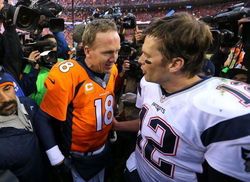 AFC Championship - Brady's New England Patriots v Manning's Denver Broncos