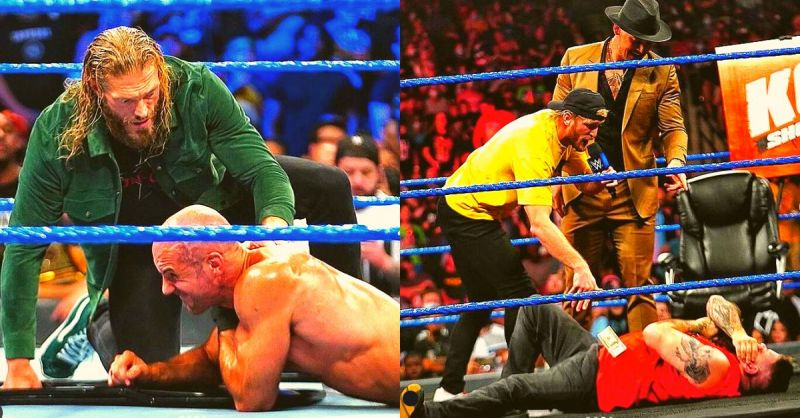 A wild and chaotic night on SmackDown