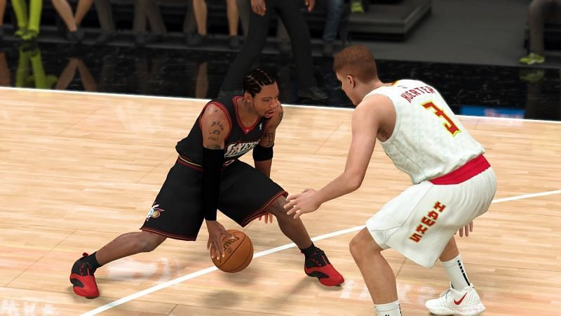 Allen Iverson with the Philadelphia 76ers [Source: IGN]