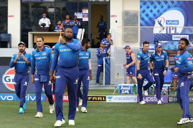The Mumbai Indians were missing a couple of their star players [P/C: iplt20.com]