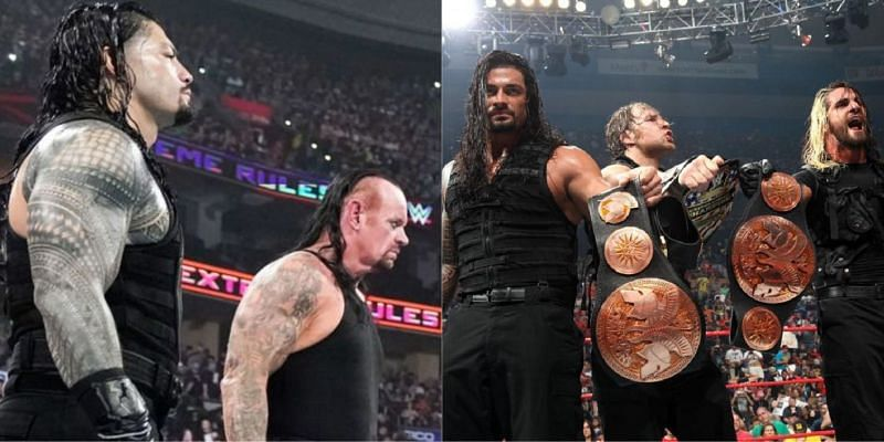 WWE Extreme Rules में रोमन रेंस ने कई मैच लड़े हैं