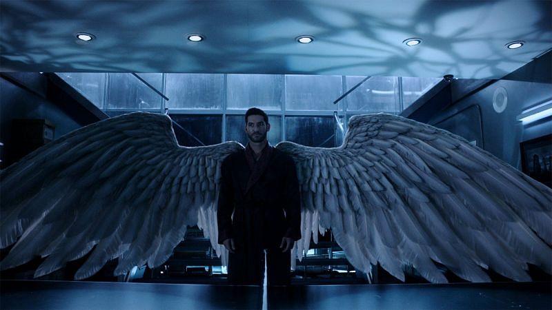 Lucifer Morningstar - The Fallen Angel in the show (Image via Twitter)
