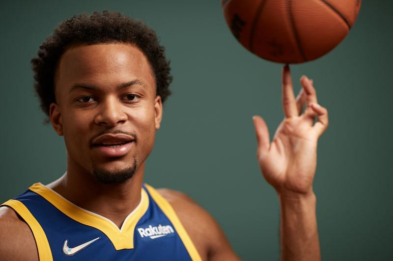 2021 NBA Rookie Photo Shoot, Golden State Warriors' Moses Moody