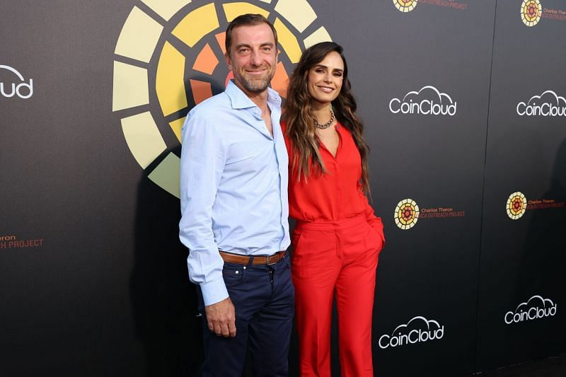 Jordana Brewster and Mason Morfit at CTAOP's Night Out (Image via Getty Images)