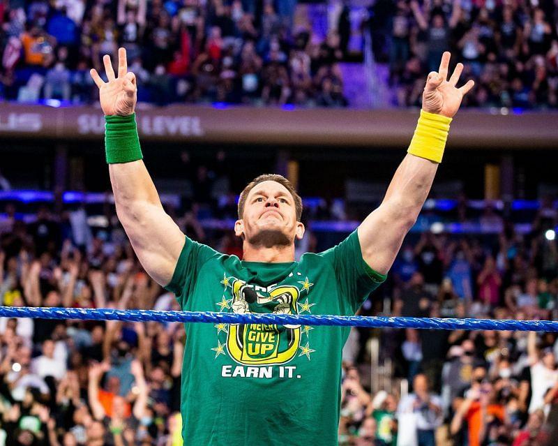 WWE दिग्गज जॉन सीना SmackDown के ऑफ एयर होने के बाद मैच लड़ा