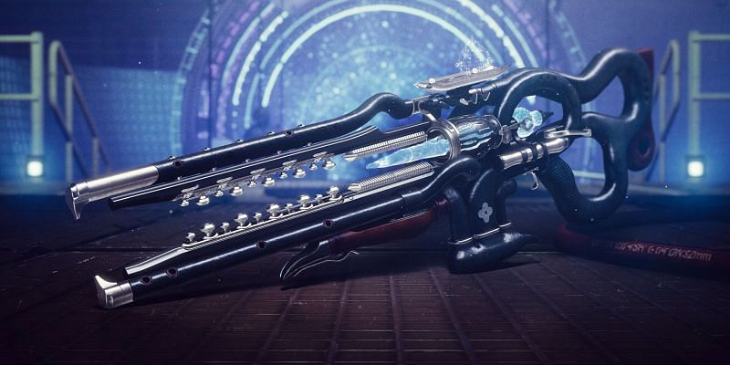 Ager's Scepter exotic stasis Trace rifle (Image via Bungie)