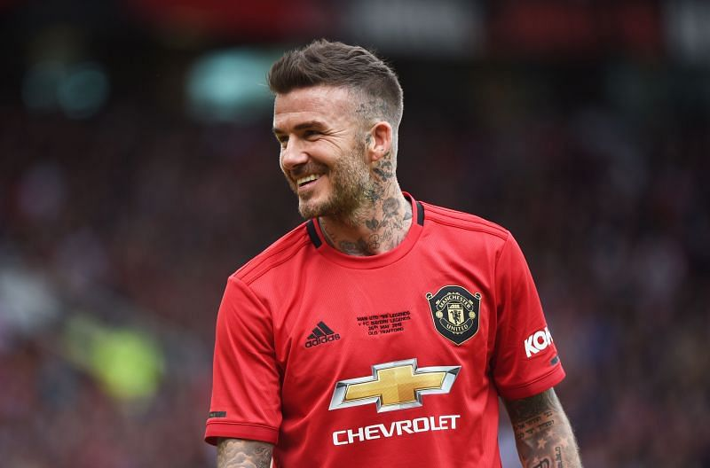 David Beckham enjoyed success in the Champions League