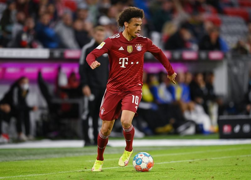 Leroy Sane - FC Bayern München vs Hertha BSC - Bundesliga