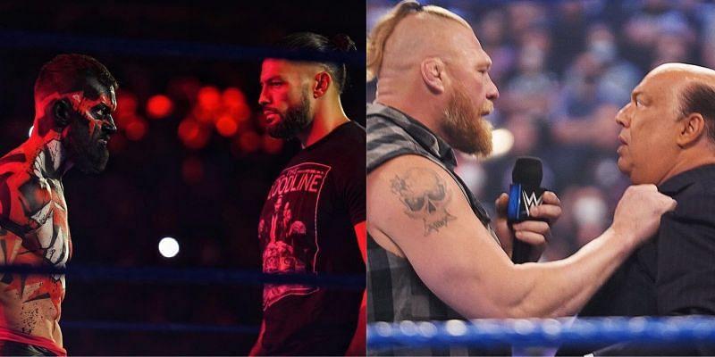 WWE SmackDown में कई जबरदस्त सैगमेंट्स बुक किये गए थे