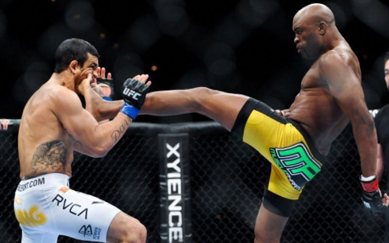 Belfort and Silva faced each other in an MMA fight that Silva won via KO