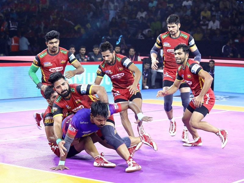 The 'Bulldozer' will be charging Bengaluru Bulls' defense for a fourth consecutive season.