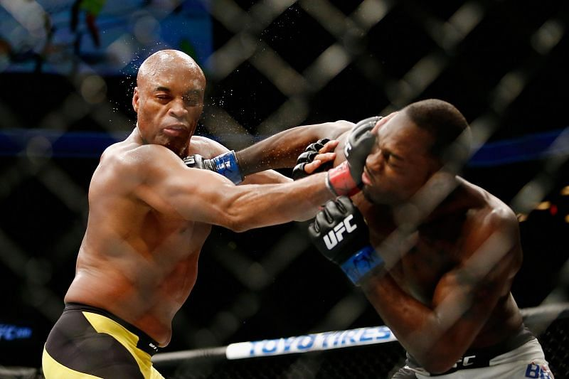 Derek Brunson arguably deserved the nod from the judges in his fight with Anderson Silva