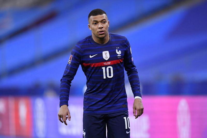 Paris Saint-Germain attacker Kylian Mbappe