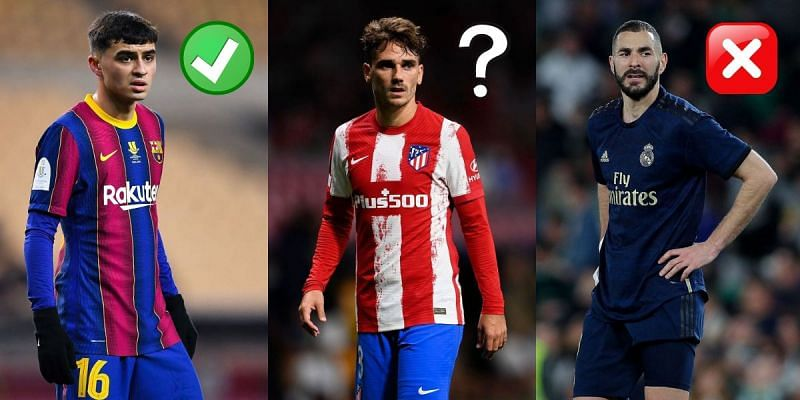 Some big names miss out in La Liga's most valuable XI
