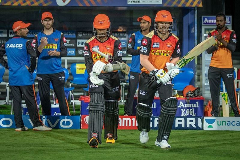 David Warner could not perform his best in the first phase of IPL 2021 (Image Courtesy: IPLT20.com)