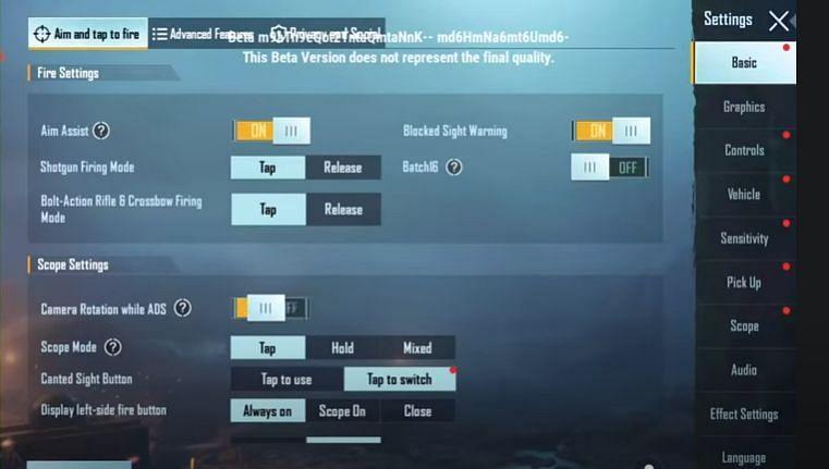 New UI changes in-game (Image via Krafton)